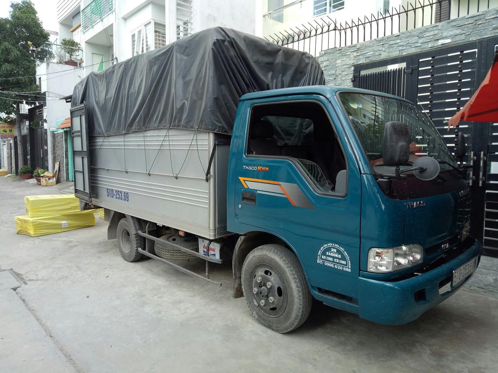 cho thuê xe tải chở hàng tại Bình Chánh
