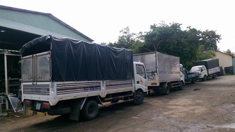 cho thuê xe tải chở hàng tại Quận 4