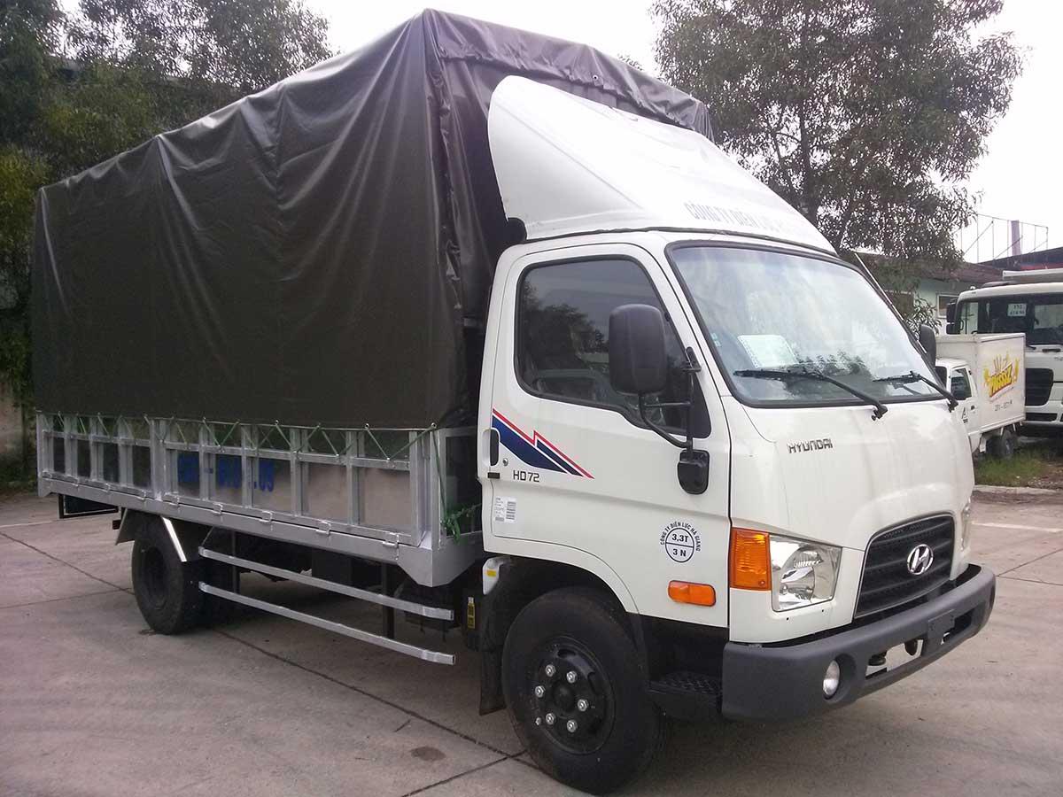 cho thuê xe tải chở hàng tại Tân Phú